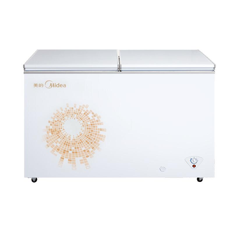 冰柜双温双室顶开门双层保温商用冷柜 269DKMA BCD 美 Midea