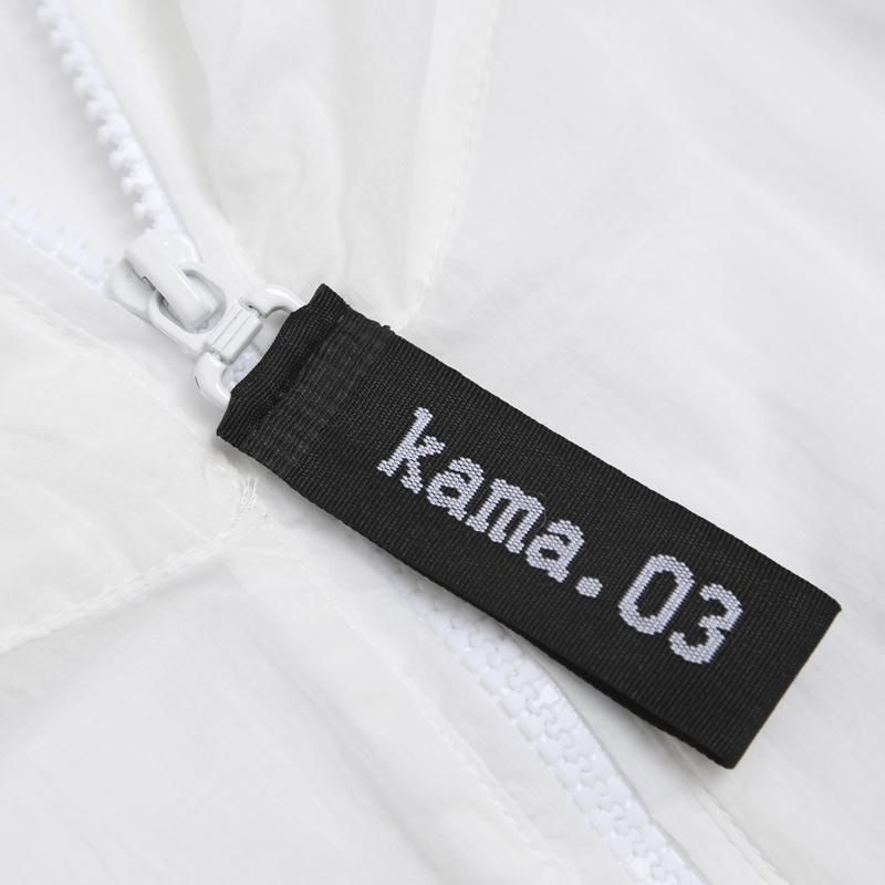 2218706 恤 T 夏季新款卫衣外套黑色连帽长袖运动休闲 2018 卡玛 KAMA