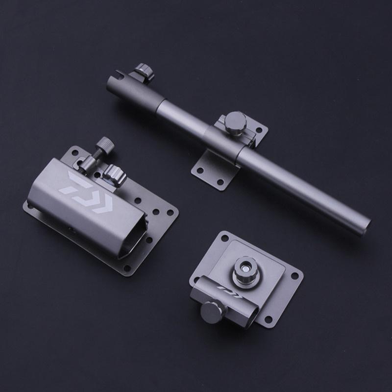钓箱配件三件套航空铝超轻分体固定式钓箱伞架快挂配件左右手可调