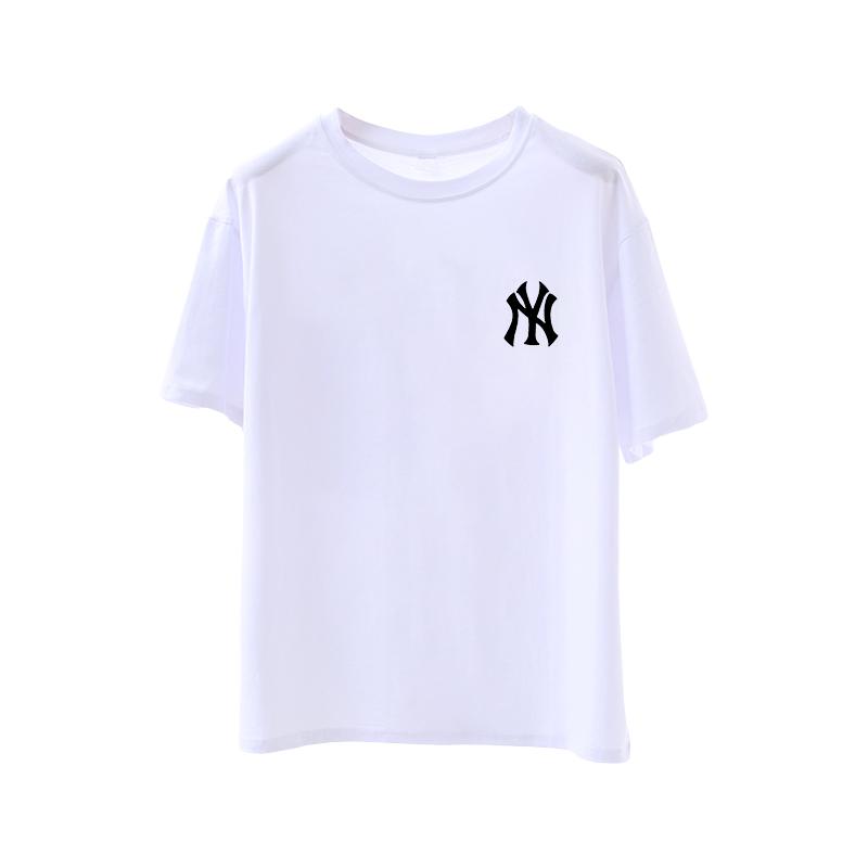 纯棉白色T恤女打底衫宽松百搭内搭韩版春装夏季新款2020短袖ins潮