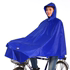 Genuine Paradise Bicycle Rain Poncho Electric Bicycle Raincoat Increased Lengthened Men and Women With Windproof Clip Student Rain Poncho