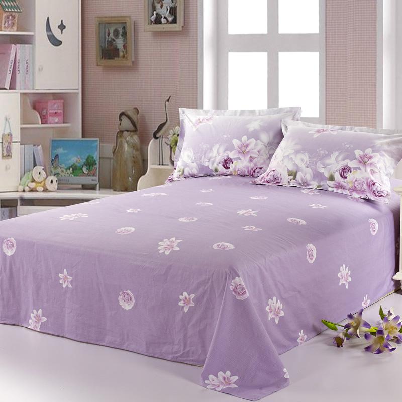 精靈羽單人床單單件純棉加厚被單全棉雙人1.5/1.8米床2.0m床棉布
