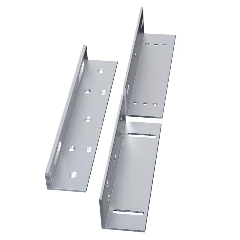 门禁系统电磁锁 型支架玻璃门 ZL 挂装明装电磁磁力锁 280KG 纳奇 NAQI