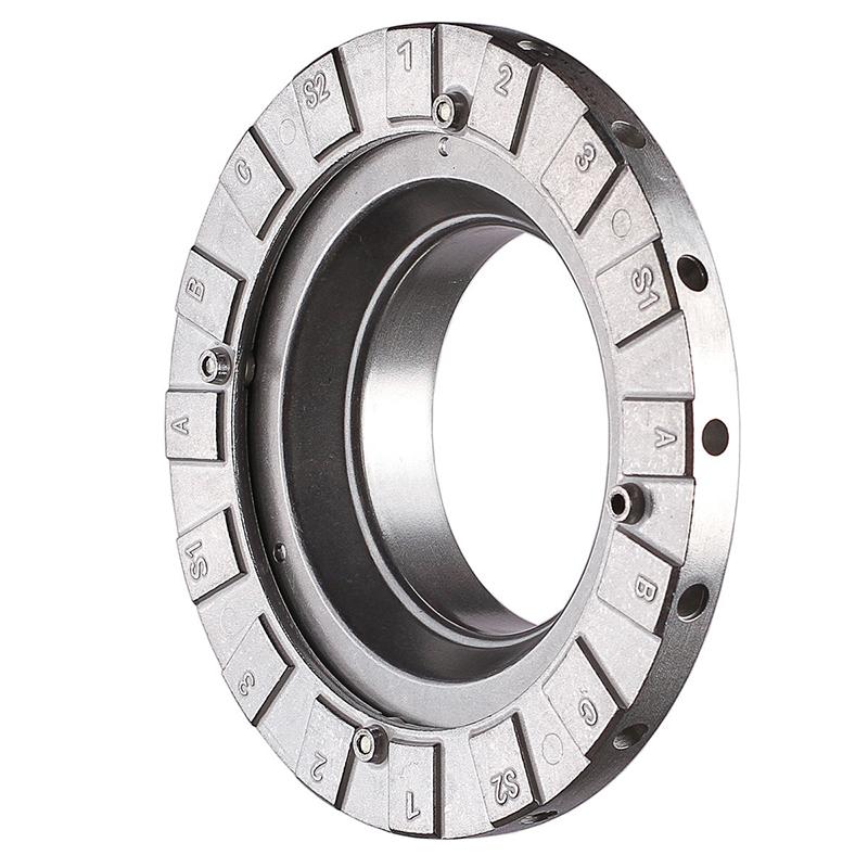 富达时82590 Phottix Bowens卡口柔光箱接环 (144mm) 保荣接环