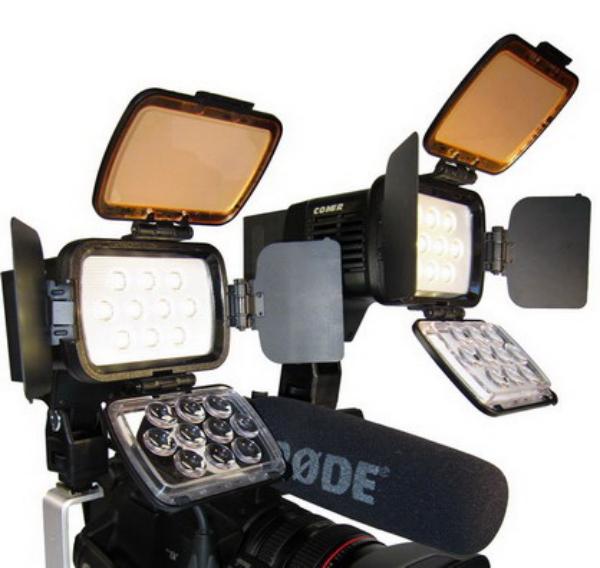 珂玛 COMER CM-LBPS1800  LED新闻灯 摄影灯 摄像灯 机头灯