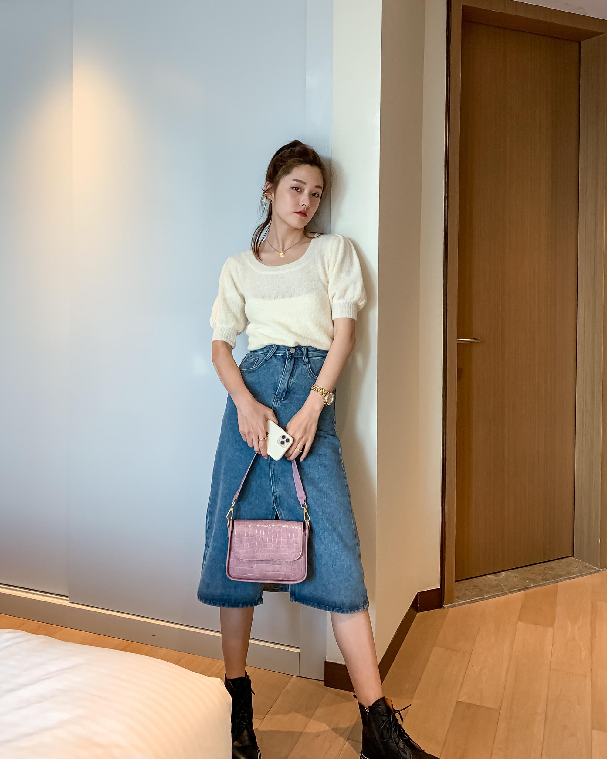 【东胜】时尚鳄鱼纹包包2020新款潮流女包小包斜挎单肩手提腋下包