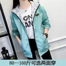 春秋季外套女学生2020新款韩版短外套两面穿潮棒球服风衣上衣女