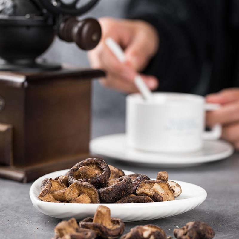谢怡香菇脆片即食香菇蘑菇干果蔬脆片100g脱水香菇办公室网红零食