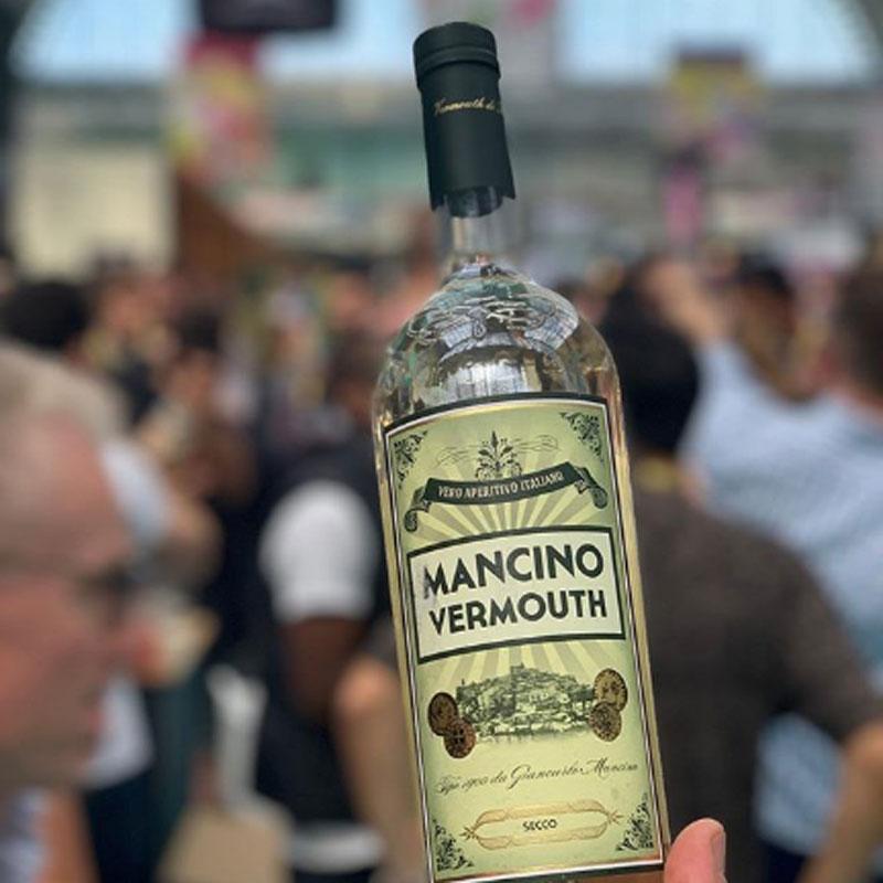 曼奇诺干味美思配制酒Mancino Vermouth 鸡尾酒调酒Dirty Martini