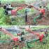 Diesel petrol micro-tiller for loosening soil and plowing fields