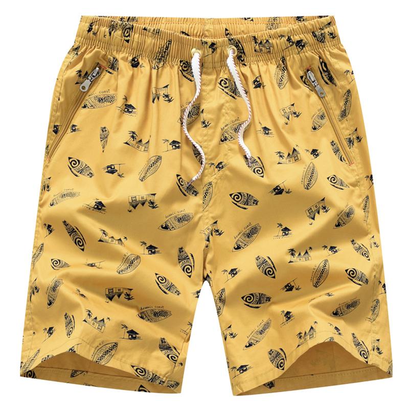 纯棉五分沙滩短裤 男士家居宽松裤衩大裤头外穿 夏季休闲居家夏天