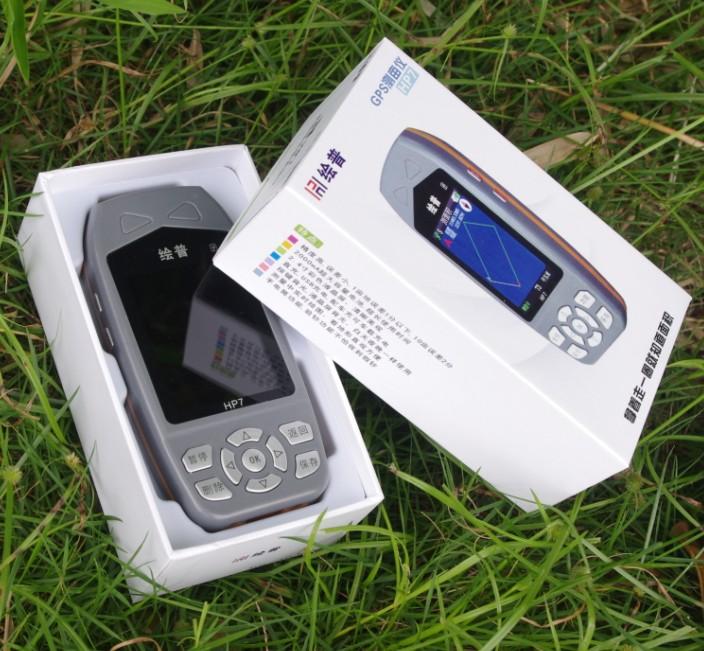 绘普HP6HP7-2测亩仪高精度GPS量地仪坡度土地面积测量仪计亩器