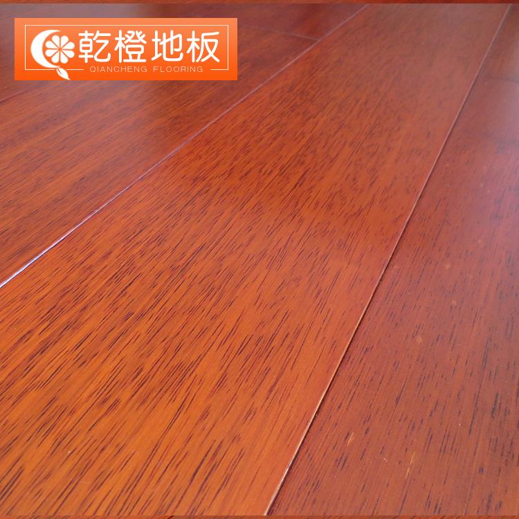 乾橙实木地板 印尼印茄木正宗大菠萝格A级纯实木地板 厂家直销