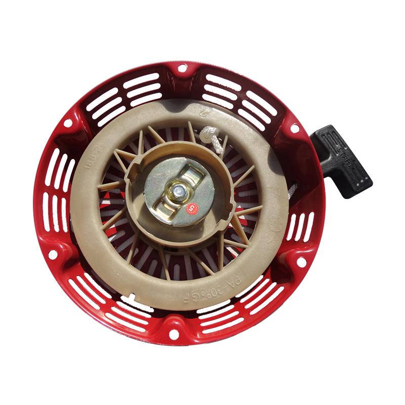 汽油发电机配件188F192F190F拉盘 汽油机5KW-8/6.5千瓦启动器拉盘