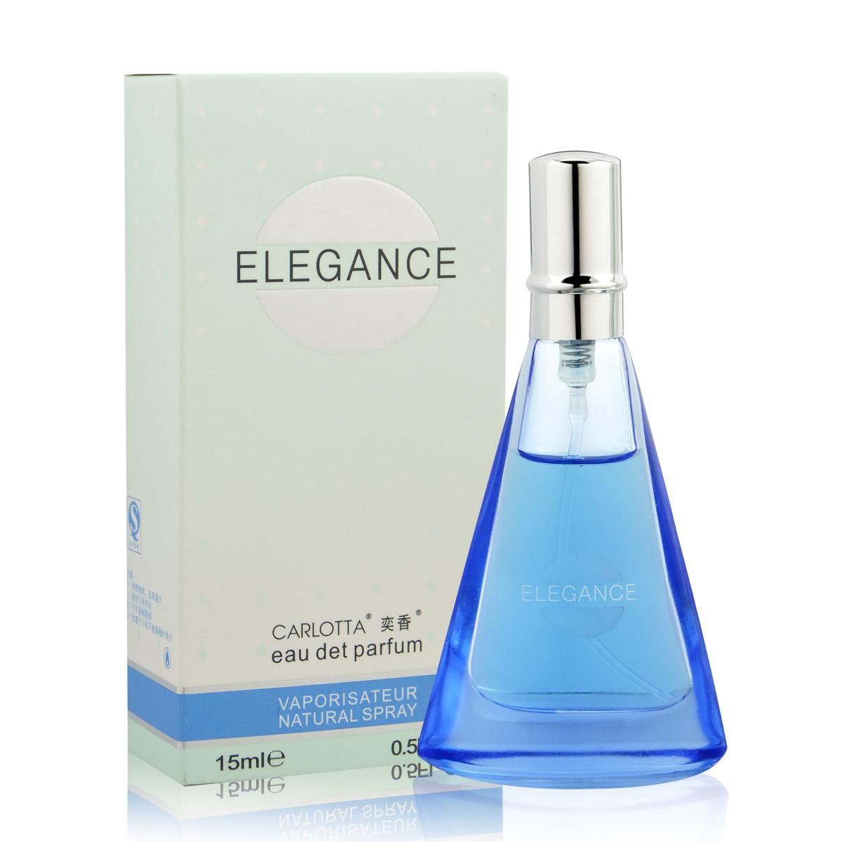 法國女士名麗ELEGANCE香水百合紫羅蘭茉莉檀香持久淡花香香水正品