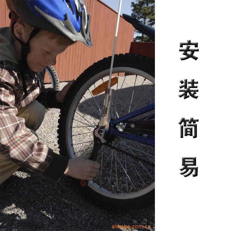 山地车 自行车旗杆 小红旗  户外骑行 单车 弹簧旗杆 赛车旗杆