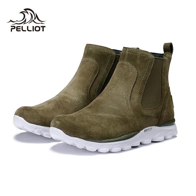 新款男女防滑耐磨休闲鞋舒适轻便东北滑雪鞋 2019 伯希和户外雪地靴