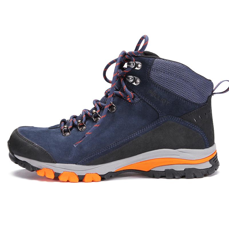 法国伯希和户外登山鞋 男女秋冬防滑保暖透气耐磨户外高帮徒步鞋
