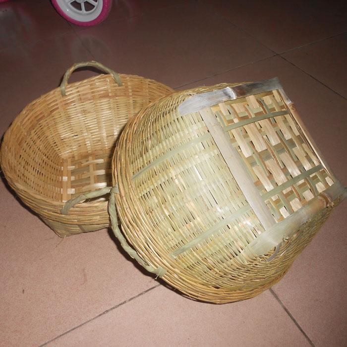 竹编制品 竹篓 米篓 竹编箩 筐 小号 竹制品 手工 竹箩筐杂物筐