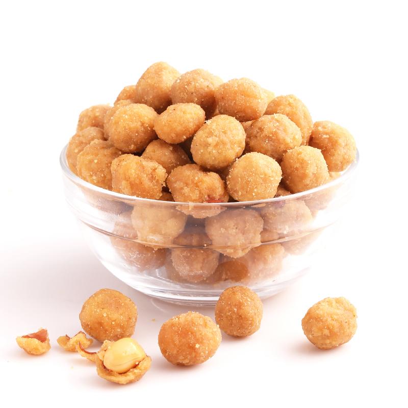 坚果炒货特产小吃花生米办公室零食 多味花生 三只松鼠 满减