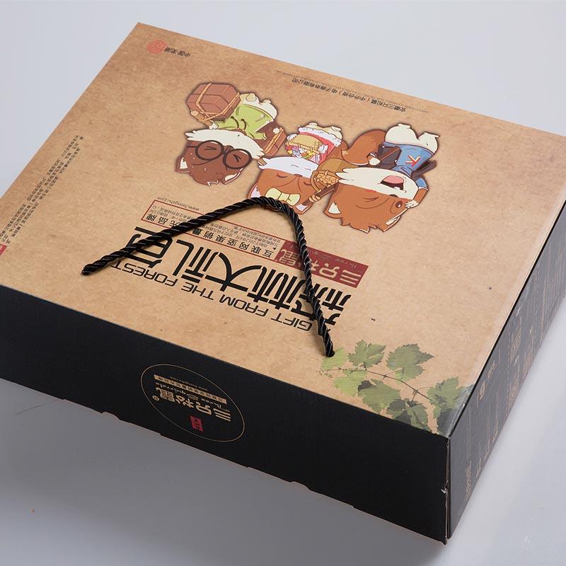 【三只松鼠_坚果大礼包1823g】礼盒每日坚果零食组合混合装10袋装