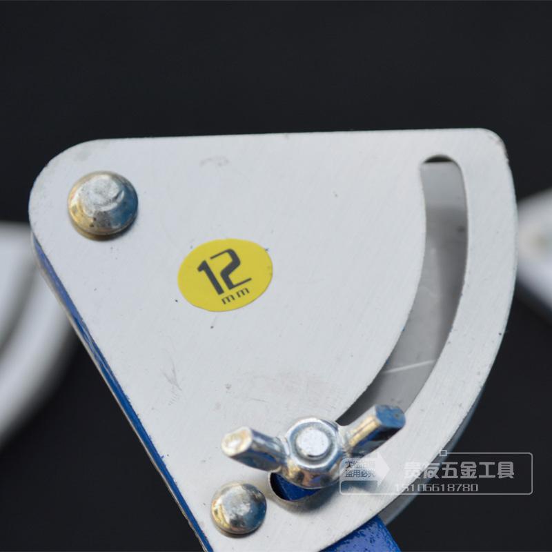 划规蓝色黑色划铁圆规手动工具合金头划规工业划线工具600mm1米