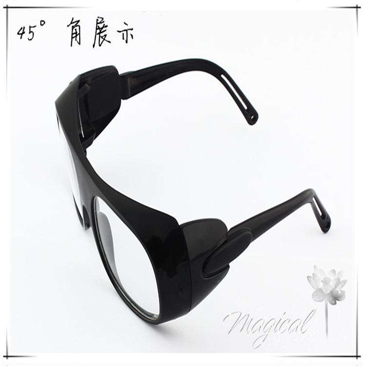 包邮劳保防护眼镜 玻璃镜片防尘防风防冲击防飞溅打磨电焊平光眼