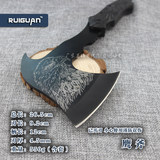 Moving woodworking ax ax outdoor high hardness steel tactical ax ax ax camping knife bone ax ax mountains