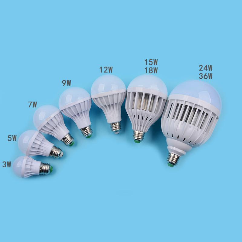 led球形灯泡家用E27螺口节能灯3w/5w/7w/9w/12w/15w/20w/30w球泡