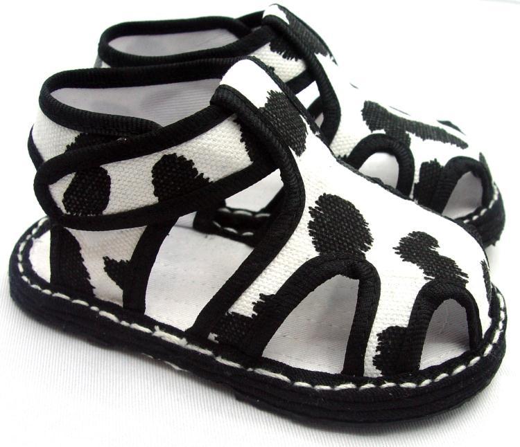 儿童宝宝手工千层底布凉鞋婴儿纯棉学步鞋手纳软底凉鞋居家鞋布鞋