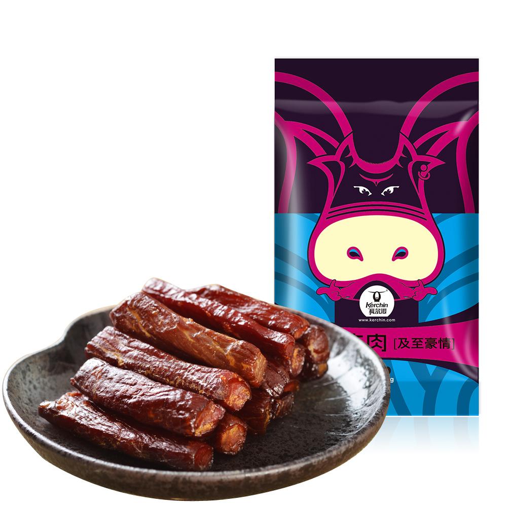 牛肉干 科尔沁风干牛肉干 内蒙古特产香辣五香手撕牛肉干熟食制品