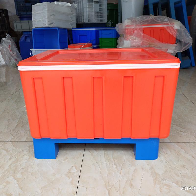 外卖保温箱冷藏箱60L塑料快餐商用保鲜箱食品馒头户外大号恒温箱