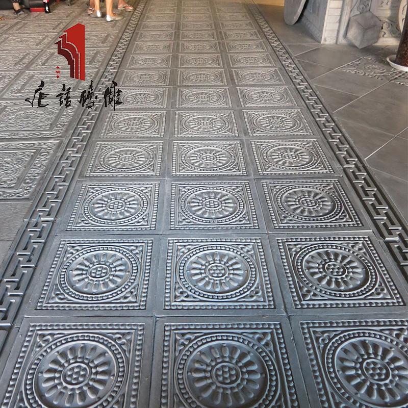 唐语砖雕仿古墙壁腰线装饰 线条边 回纹线墙面顶线踢脚线门框边线
