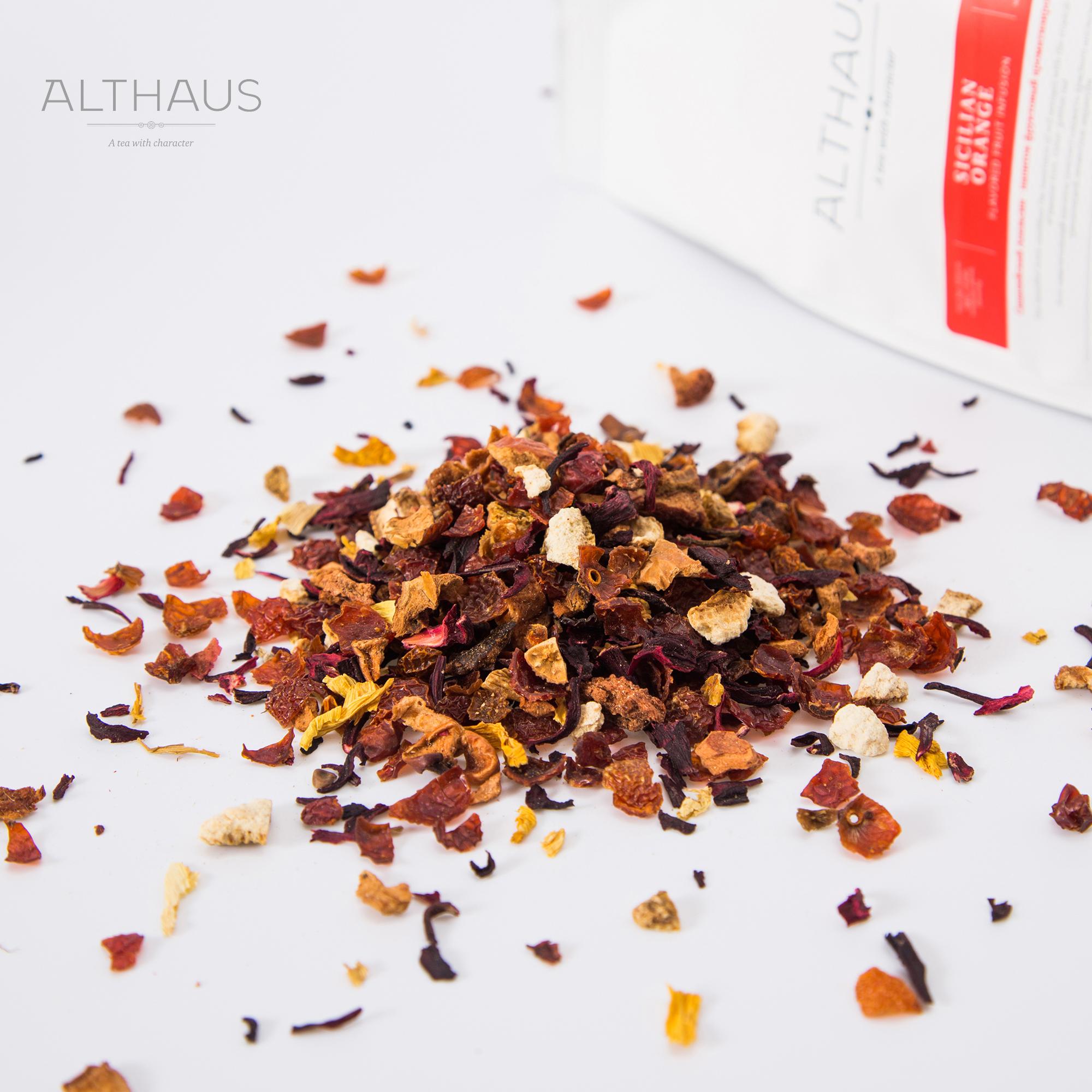 德国原装进口 ORANGE SICILIAN 奥尔索斯西西里柑橘花果茶 Althaus