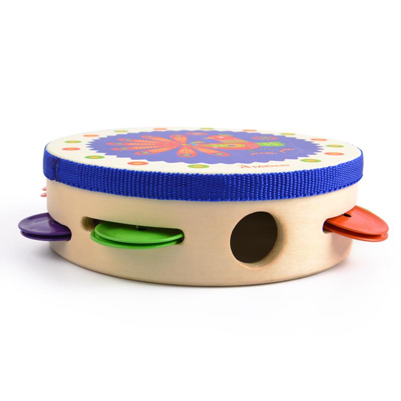 弥鹿奥尔夫儿童打击乐器 1-3岁宝宝早教手拍摇铃鼓幼儿园舞蹈道具