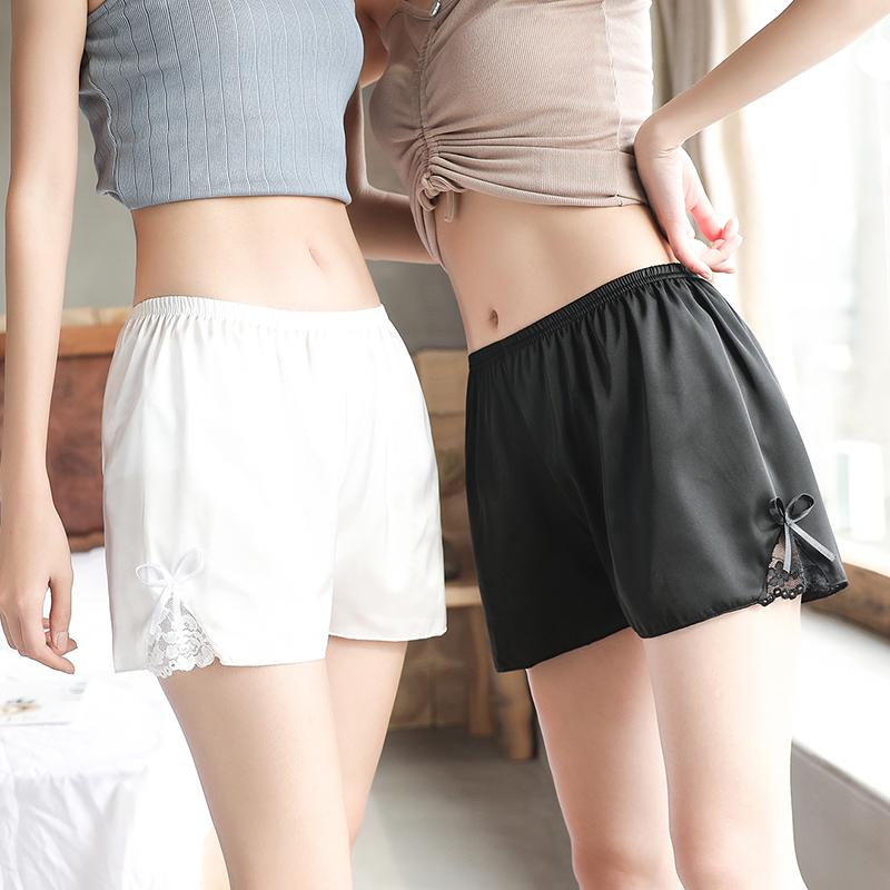 宽松安全裤防走光女夏季薄款冰丝无痕可外穿不卷边防狼保险打底裤
