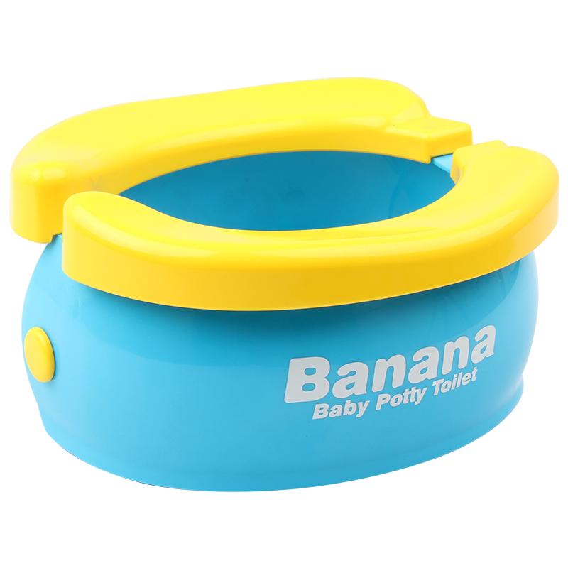 香蕉儿童坐便器便携式可折叠免清洗车载宝宝马桶旅行神器 HO FUN