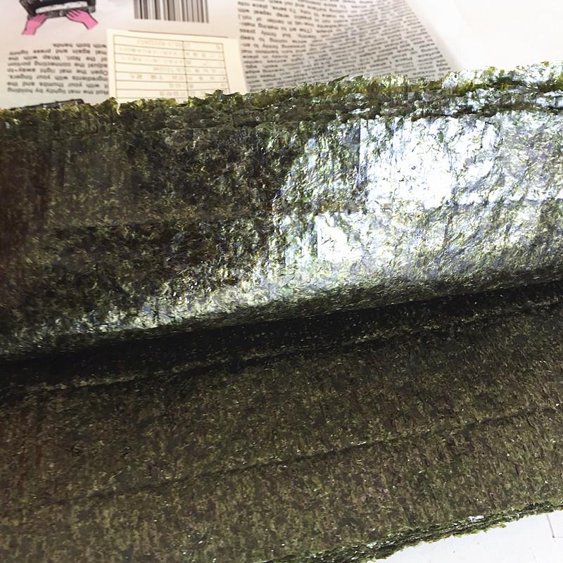 张烤海苔寿司料理食材烤紫菜包饭开袋即食手卷 50 手卷寿司永井海苔