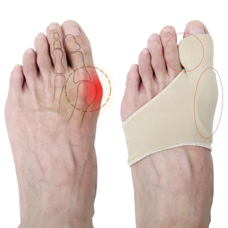 拇指拇外翻脚趾矫正器日夜用可穿鞋成人男女大脚骨分趾护理套硅胶