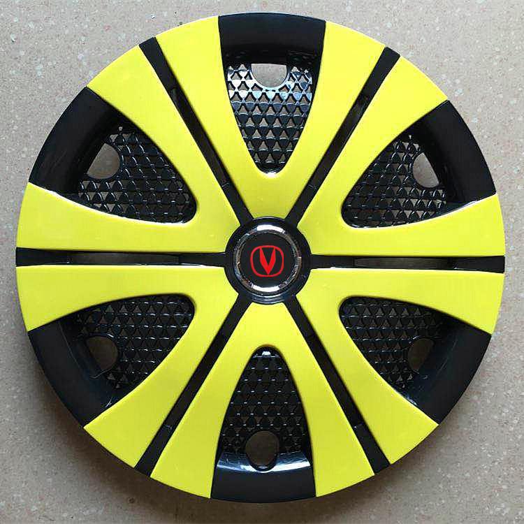 长安悦翔V3V7CX20奔奔轮毂盖迷你MINI钢铁轮毂改装车轮盖V标新标
