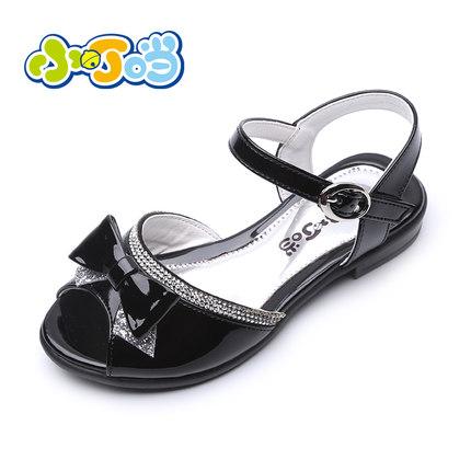 小叮当女童凉鞋公主鞋春夏韩版儿童单鞋男童凉鞋学生鞋夏季清仓