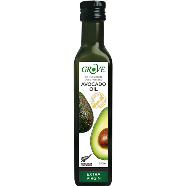 Avocado oil for infants and young children