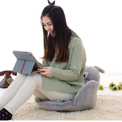 天天特价学生办公室护腰靠垫坐垫一体儿童卡通加厚大号汽车座垫
