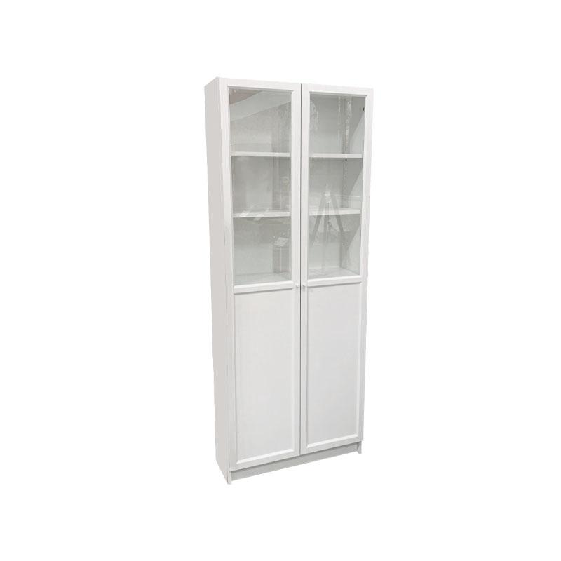 正品妮妮宜家家具 国内代购 毕利奥克伯玻璃门书架玻璃门书柜子