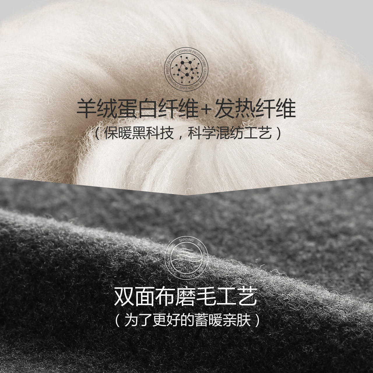金利来男士保暖内衣男套装无痕发热薄款加绒冬季德绒秋衣秋裤男潮