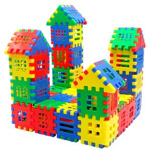 儿童数字方块积木男孩拼装益智玩具3-4-5-6周岁女孩拼插智力拼图