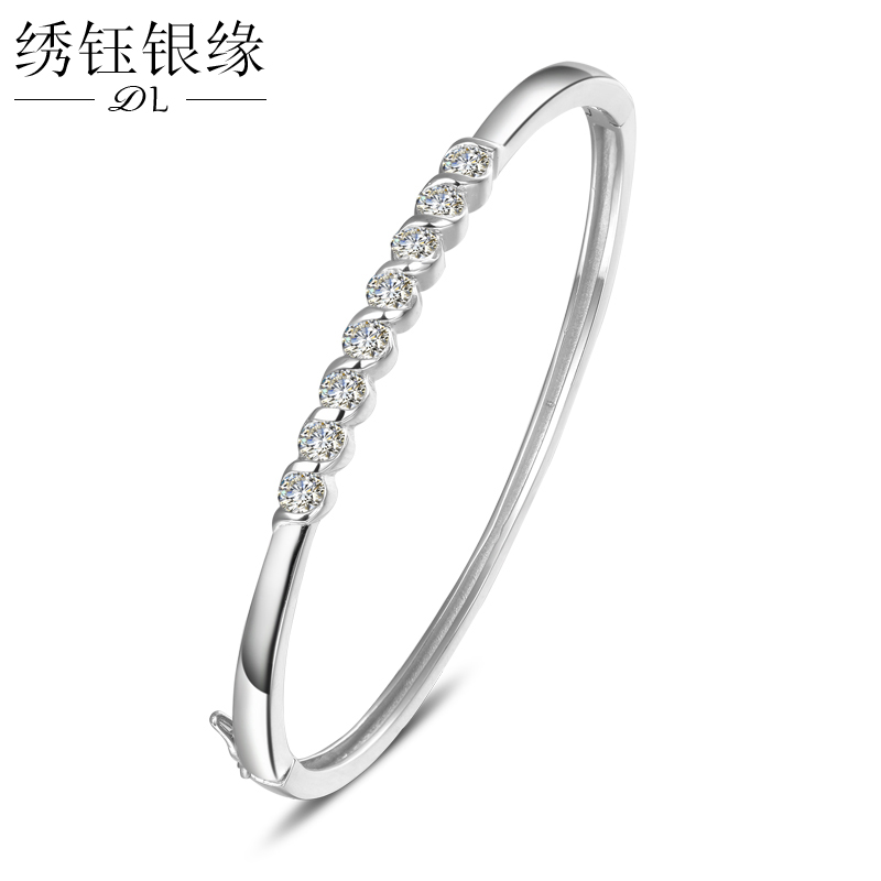Buy 925 Silver Bracelet Female Korean Version Of The Minimalist