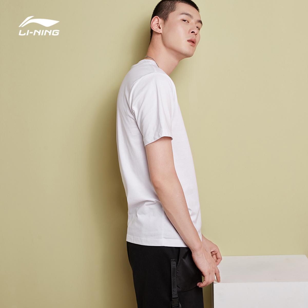 李宁短袖男士bad five篮球系列t恤