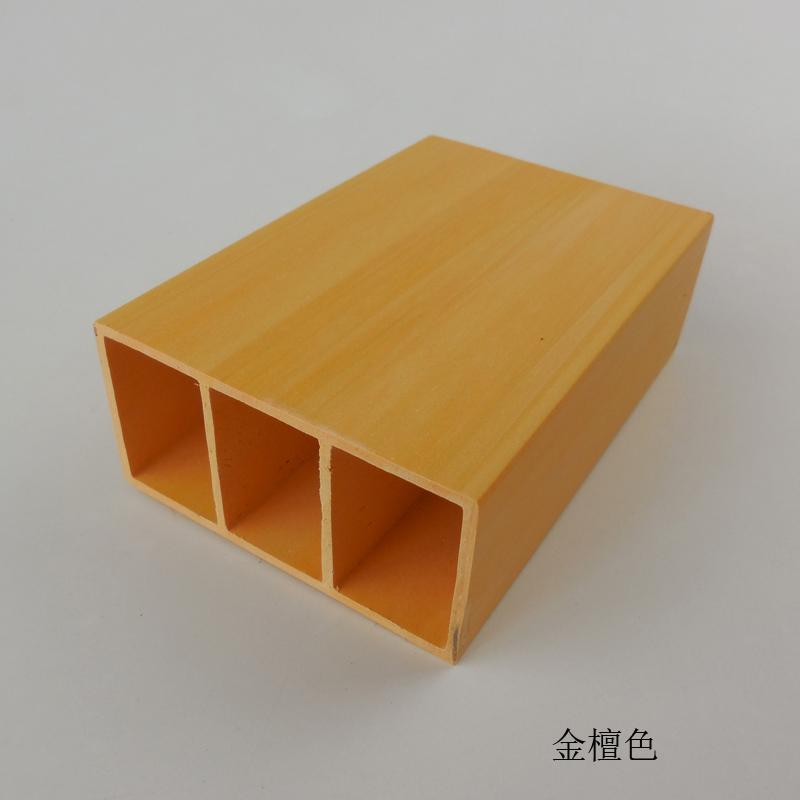 大促销生态木吊顶方通家装材料客厅隔断房顶假梁基础建材装饰板材