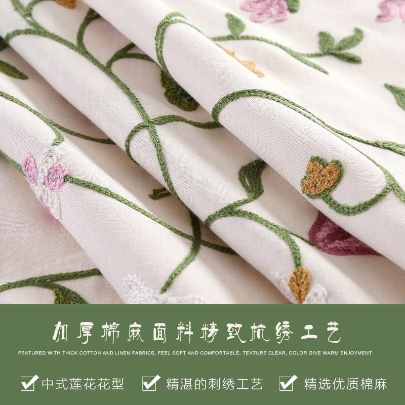 绣花微波炉罩防尘罩格兰仕美的烤箱罩盖布烤箱套子布艺收纳袋式